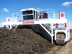 SCARAB composting machine